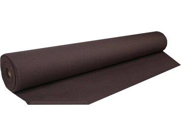 Home Basics Vorhang nach Maß »ESTE«, (1 Stück), Dekostoff mit Struktur zum selber Nähen!, braun, mocca
