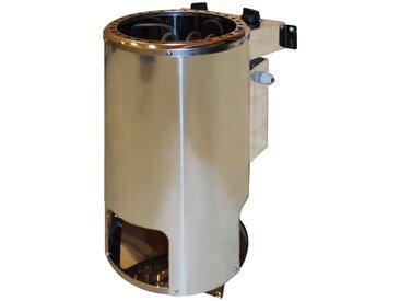 weka WEKA Saunaofen »Kompakt«, 3,6 kW, integrierte Steuerung, silberfarben, silberfarben