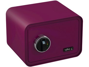 BASI Tresor »mySafe 350«, mit Fingerabdruck, lila, lila