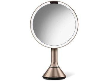 simplehuman Spiegel »20 cm Sensorspiegel mit Touch-Helligkeitsregelung«, goldfarben, goldfarben