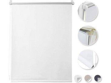 i@home Seitenzugrollo »Thermorollo-Weiß«, verdunkelnd, ohne Bohren, Freihängend, Hitzeschutz