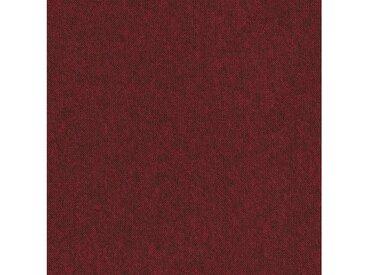 Teppichfliese »City«, quadratisch, Höhe 3 mm, selbstliegend, rot, 20 St., SL 150 rot