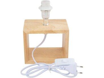 VBS Standfuß »Lampenfuß mit Stecker Olinda E14«, 19,5 cm x 14 cm x 9,5 cm