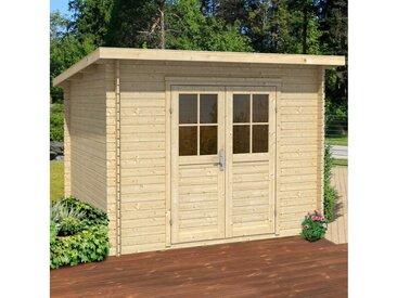 Nordic Holz Gartenhaus »Genua«, BxT: 272x242 cm, ohne Dacheindeckung