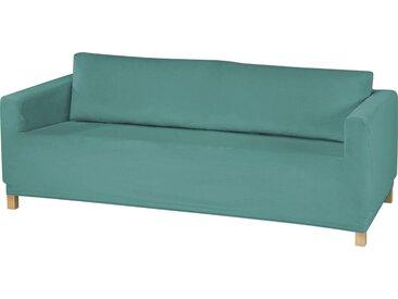 Dohle&Menk Sofahusse »Susi«, samtige Microfaserware, blau, 3-Sitzer, petrol