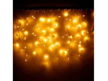 TOPMELON Lichtervorhang »LED-Lichterkette«, 96-flammig, gelb, 96 St. - 96 St., Gelb