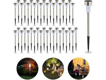 relaxdays Gartenleuchte »40 x LED Solarleuchte weißes Licht«