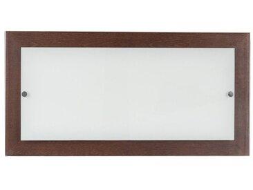 SPOT Light Deckenleuchte »Finn«, LED-Lichtquelle integriert, wertiger Schirm aus Glas, Baldachin aus Massivholz, Made in Europe