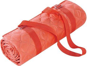 BIEDERLACK Picknickdecke »Picnic«, Nässe und Schmutz abweisende Unterseite, rosa, koralle