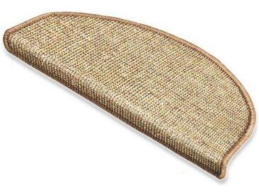 Floordirekt Stufenmatte »Sisal Premium Natur«, Halbrund, Höhe 8 mm