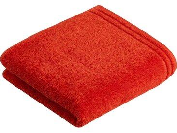 Vossen Handtücher »Calypso« (2-St), mit schmaler Bordüre, rot, flesh red