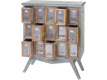 MCW Apothekerschrank »-A43-94« 15 herausnehmbare Schubladen, Inklusive Buchstabenschilder