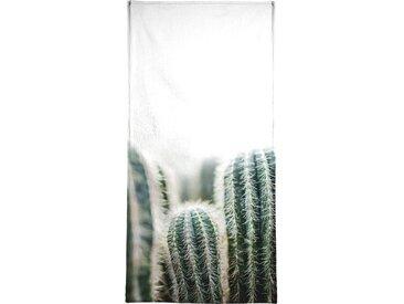 Juniqe Handtuch »Cactus 1« (1-St), Weiche Frottee-Veloursqualität