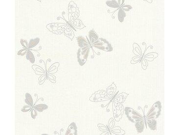 living walls Vliestapete »Happy Spring«, mit Tieren, bunt, beige-weiß-grau