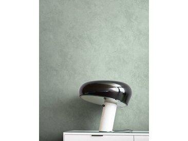 Newroom Vliestapete, Grün Tapete Modern Beton - Putzoptik Grau Betonoptik Uni Einfarbig Industrial Bauhaus für Wohnzimmer Schlafzimmer Küche, grün