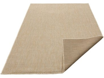 my home Teppich »Rhodos«, rechteckig, Höhe 3 mm, In- und Outdoor geeignet, Sisaloptik, natur, beige