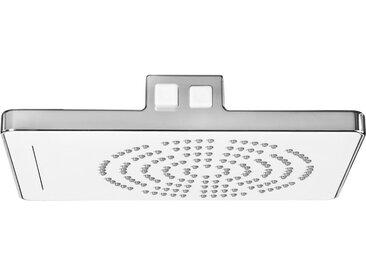 CORNAT Set: Duschsystem »WATERFALL«, Kopfgröße: 245 x 185 mm, silberfarben, chrom/weiß