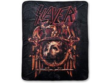 Klangundkleid Bett, »Slayer Repentless FLEECEDECKE schwarz 100% Polyester 130 x 160 cm NEU TOP«