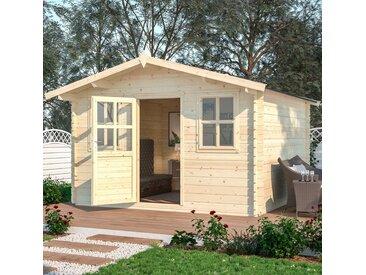 Nordic Holz Gartenhaus »Bergamo«, BxT: 390x401 cm, ohne Fußboden