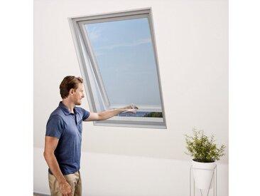 WINDHAGER Insektenschutzgitter »für Dachfenster«, BxH: 130x150 cm, anthrazit, 130 cm x 150 cm, 130 cm x 150 cm, Dachfenster
