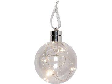HALBACH LED Dekolicht »LED Weihnachtskugel«, befüllbar, Ø 10 cm