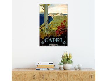 Posterlounge Wandbild, Italien - Capri, Premium-Poster