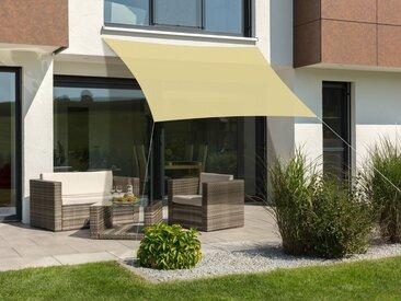 Schneider Schirme Sonnensegel »Lanzarote«, ca. 300 x 250 cm, natur, schilf