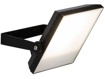 Brilliant Leuchten Dryden LED Außenwandstrahler 22cm schwarz, schwarz, schwarz