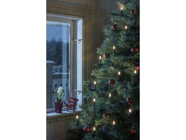 KONSTSMIDE LED Baumkette, Topbirnen, One String, grün, Lichtquelle warm-weiß, Grün