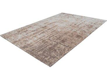 Kayoom Teppich »Madison 125«, rechteckig, Höhe 9 mm, Kurzflor, braun, braun