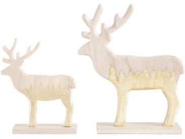 CHRISTMAS GOODS by Inge Tierfigur »Rentier« (Set, 2 Stück)