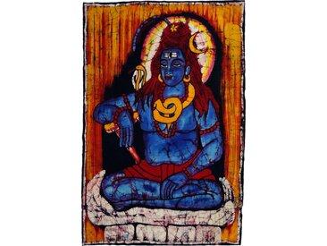 Guru-Shop Wandteppich »Handgemaltes Batikbild, Wandbehang, Wandbild -..«, Höhe 87 mm