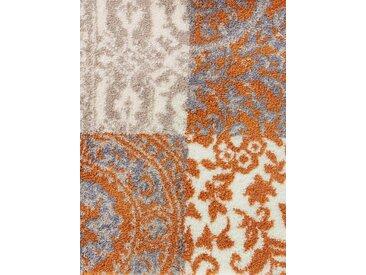 Grund Badgarnitur mit elegantem Muster, braun, terracotta