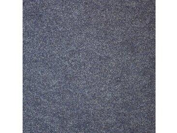 Teppichfliese »Madison«, quadratisch, Höhe 6 mm, blau, selbstliegend