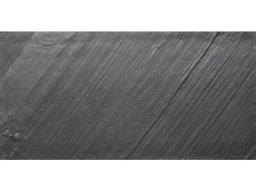 SLATE LITE Dekorpaneele »D.Black«, Naturstein, Stärke 1,5 mm, 60 x 30 cm, 6er Box, schwarz, 60 x 30 cm, natur/schwarz