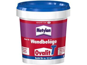 Metylan METYLAN Set: Tapetenkleber »Ovalit T«, für Wandbeläge; 1 , 2 oder 5 Eimer à 750 g, weiß, 2, weiß