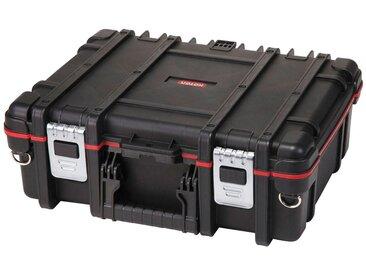 Keter KETER Werkzeugkasten »Technican Box«, 48x38x17 cm, 16,3 l Fassungsvermögen, schwarz, schwarz