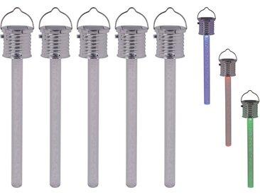 näve LED Gartenleuchte »THERMOMETER«, Set, 5 Stück