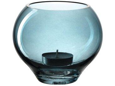 LEONARDO Teelichthalter »Tischlicht MILANO Blau 9 cm«