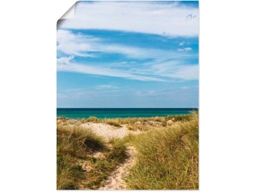 Artland Wandbild »In den Dünen Dänemarks I«, Strand (1 Stück), Poster