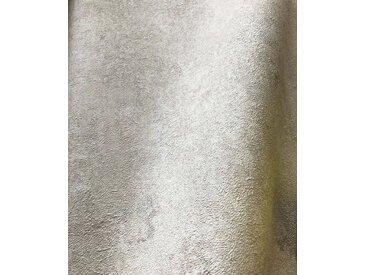 Newroom Vliestapete, Tapete, Creme, Beton, Beige Tapete Wohnzimmer Flur Wallpaper Vlies, gelb, gelb