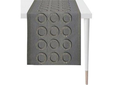 APELT Tischläufer »1710 Loft Style« (1-tlg), Jacquardgewebe, grau, anthrazit
