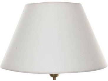 Signature Home Collection Lampenschirm, Handgefertigter Lampenschirm in Stoff, weiß, weiß