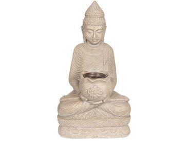 Clayre & Eef Teelichthalter » Teelicht Dekoration Buddha 28*20*50«