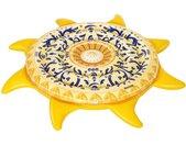 Bestway Luftmatratze »Mediterane Sonne«, 207 cm Durchmesser, gelb