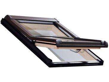 RORO Türen & Fenster RORO Dachfenster »Typ DHE216«, BxH: 114x118 cm, kieferfarben, grau, anthrazit