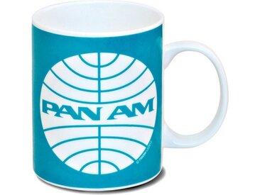 LOGOSHIRT Tasse mit Airline-Print »Pan Am Logo«, blau, turquoise