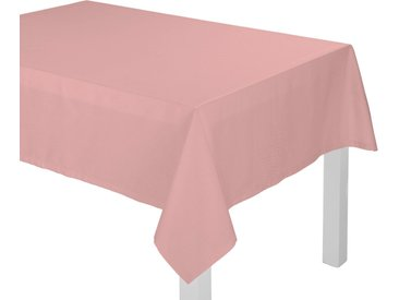 Adam Tischdecke »Uni Collection«, GOTS zertifiziert, nachhaltig, rosa, rosa