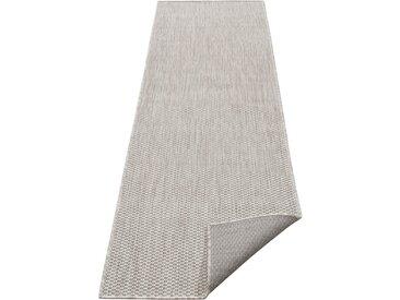 my home Läufer »Rhodos«, rechteckig, Höhe 3 mm, In- und Outdoor geeignet, Sisaloptik, grau, grau