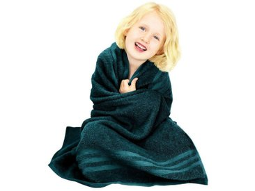 Lashuma Reisehandtuch »London« (1-St), das große Strandtuch für Ihre Kids! Größe: 100x100 cm, grün, seegrün
